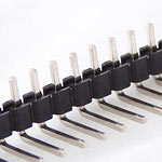 40 pin 2.54mm snappable single row right angle header