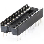 "IC Socket 20pin 7.62mm (0.3"")"