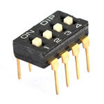 Dip switch - 4 way