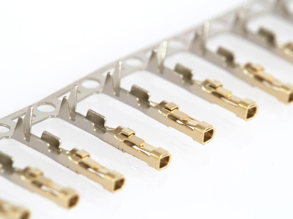 female crimp pins for dupont connectors set of 20 protostack avr development kits. Black Bedroom Furniture Sets. Home Design Ideas