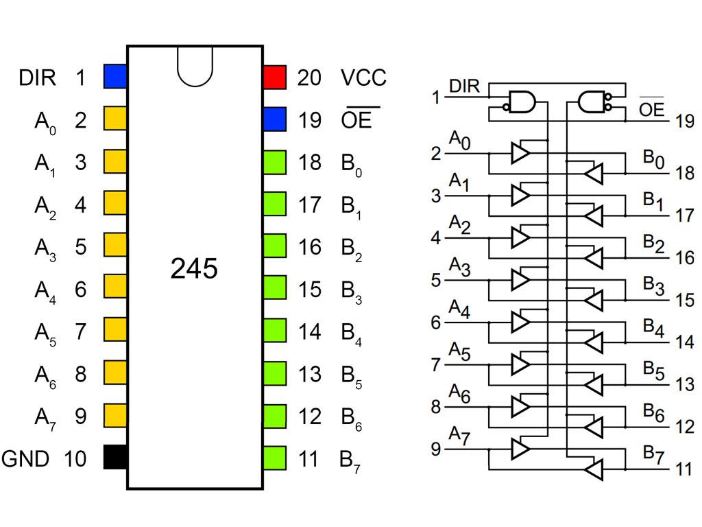 8 bit logic level converter   1 35   protostack  avr development kits  boards and components