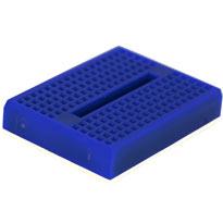 170 tiepoint mini breadboard - Blue