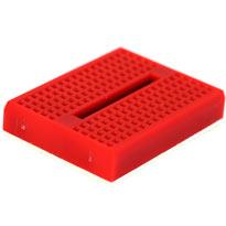 170 tiepoint mini breadboard - Red