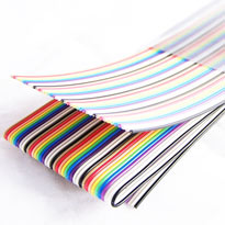 Ribbon Cable 40 conductor, 1.27mm pitch - 1 meter