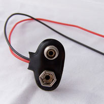 9V battery clip