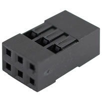 2x3 Pin Dupont Connector Housing