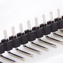 40 pin 2.54mm snappable single row right angle header