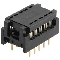 10 Pin IDC Ribbon Connector - Breadboard Friendly