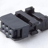 IDC Female connectors, 6 pin