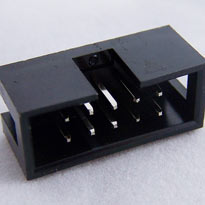 IDC Male connector (shrouded header), 10 pin