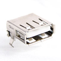 USB Type A Female Connector