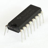 74HC595 8-bit serial-in, serial or parallel-out shift register