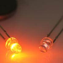 LED waterclear Orange 3mm