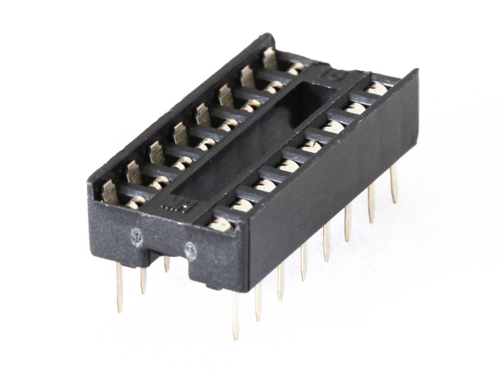 Ic Socket 16 Pin 7 62mm 0 3 0 20