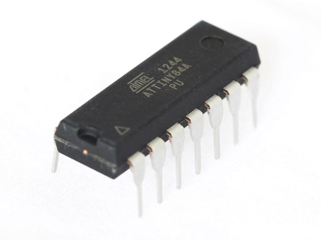 Attiny84a Pu 8 Bit 8k Avr Microcontroller 2 80